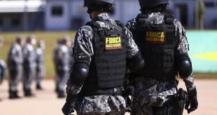 Cerimônia de  entrega de itens de segurança para 23 estados e o Distrito Federal. Os bens, que fazem parte do acervo da Força Nacional de Segurança Pública.