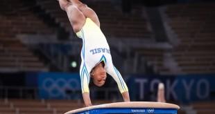Olimpíada: Flávia Saraiva e Rebeca Andrade treinam no palco dos Jogos