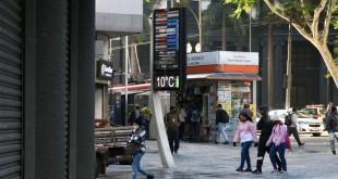 São Paulo tem mais uma madrugada gelada