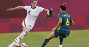 Tóquio: após 0 a 0 com australianas, EUA avançam às quartas de final