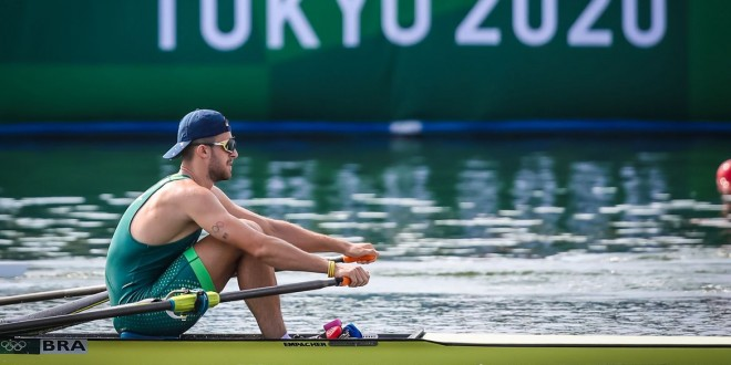 Olimpíada: Lucas Verthein vai às quartas de final do skiff simples