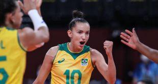 Vôlei: Brasil estreia no Sul-Americano com vitória sobre o Peru